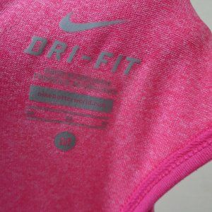 Nike Tops - Nike Dri Fit Striped Racerback Tank top Pink